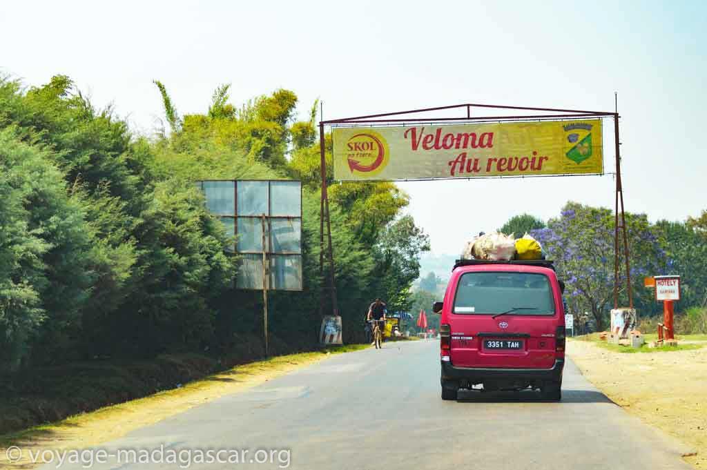 Au revoir - Veloma - A bientot - bon voyage à madagascar