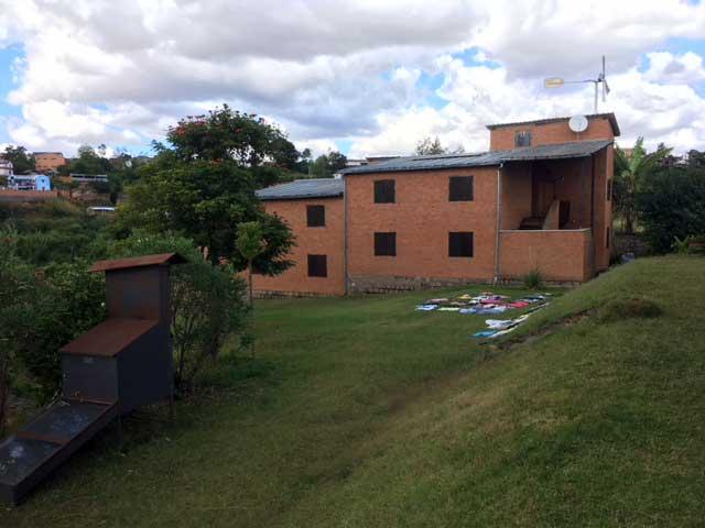 Centre d'accueil Antseranantsoa s'étend sur 3ha