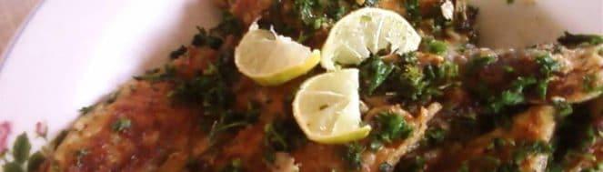 Filet de merlan façon meunière