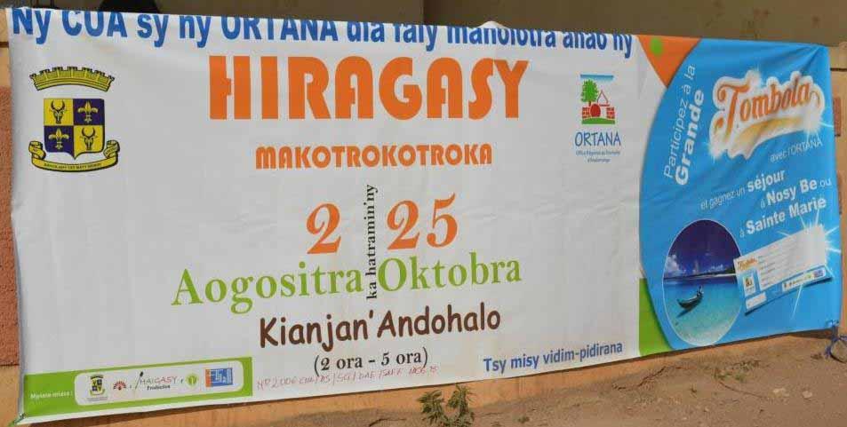 Hira gasy makotrokotroka 6ème édition