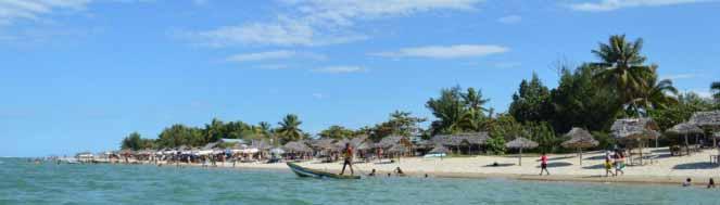 La beauté des côtes malgaches