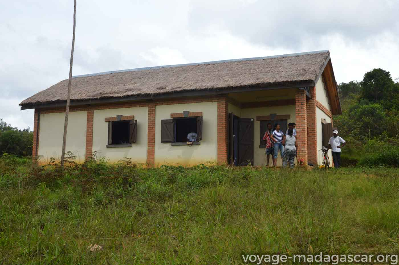 Le bureau de la VOI Firaisankina à Andasibe Iaroka