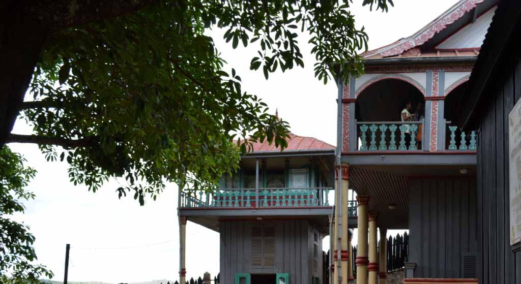 Le palais d'Ambohimanga
