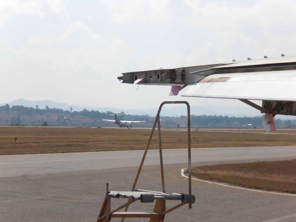 Madagascar: vol avec escale
