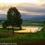 Menamasoandro - coucher du soleil à Madagascar