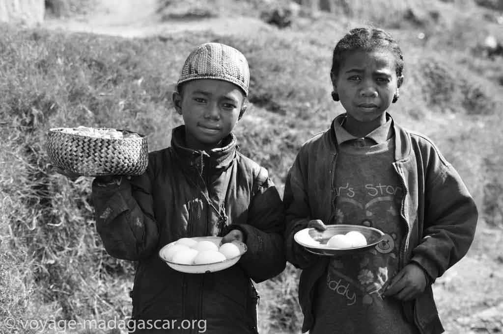 Mode de vie simple des malagasy