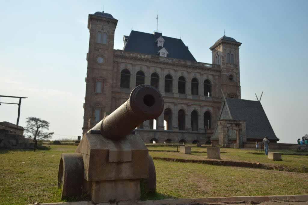 Le palais royal de Manjakamiadana