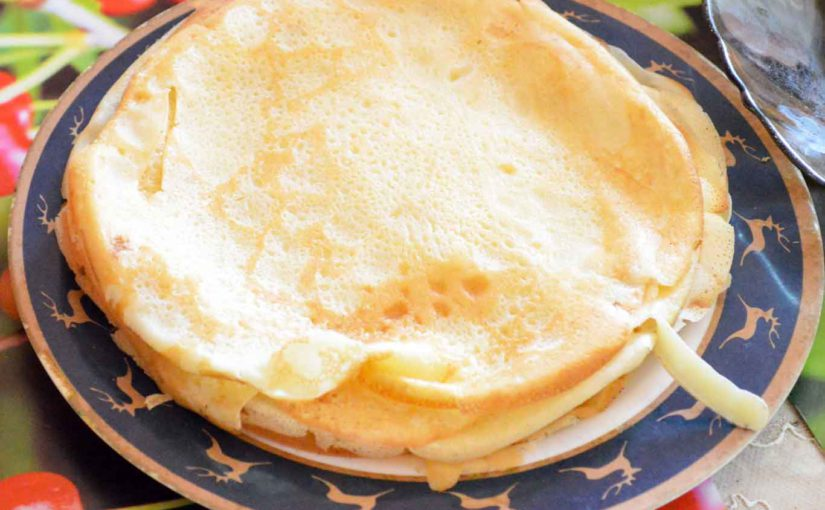 Pancake à la banane rapide