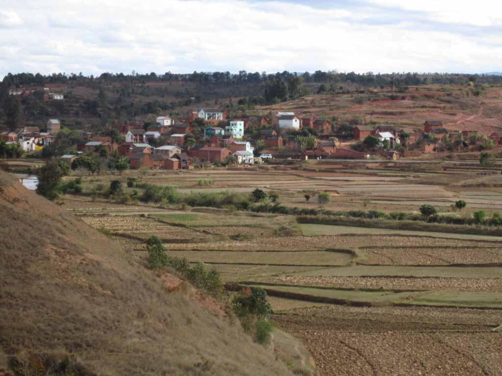 Paysage de Behenjy madagascar