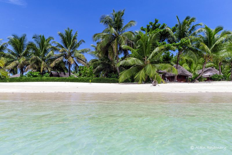 Site touristique à Madagascar : plage de l'Ile-aux-Nato