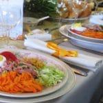 Recette de salade de chou au charcuterie