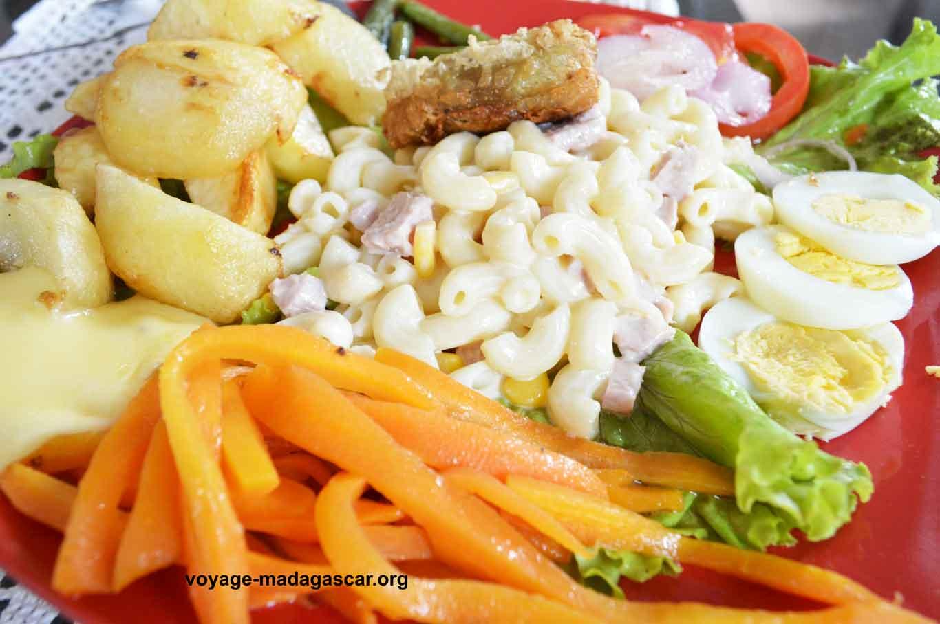 Salades de Pates