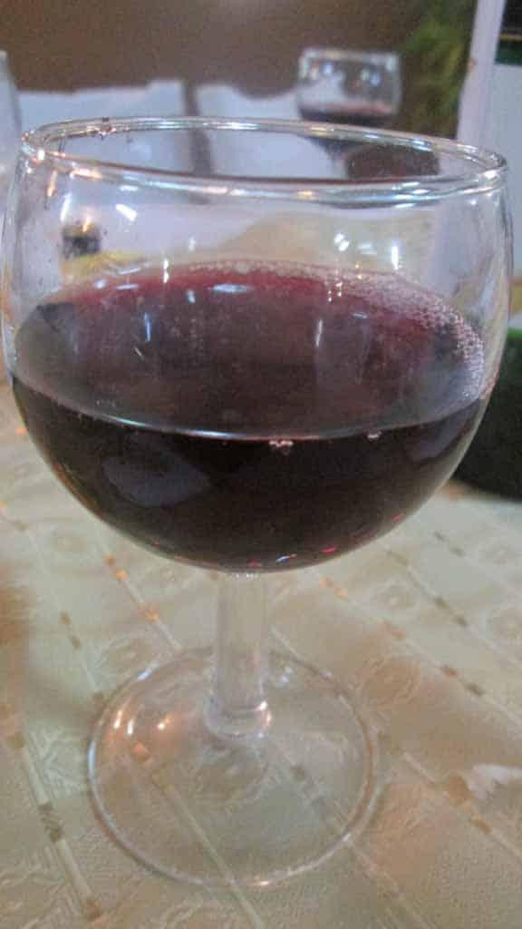 Vin rouge de Fianarantsoa