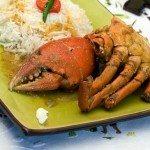Crabes au lait de coco de Madagascar
