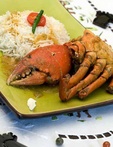 Crabe au coco