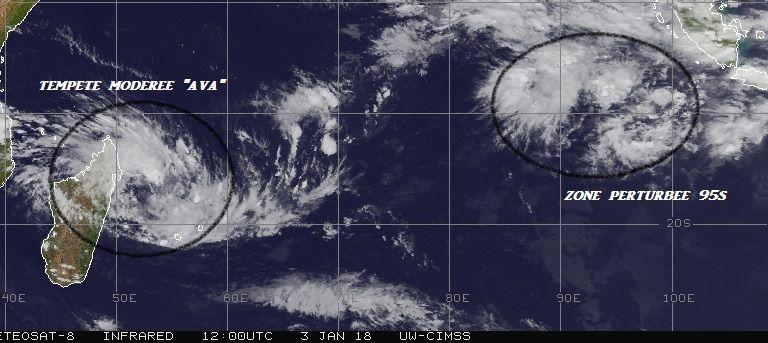 tempête tropicale AVA à Madagascar