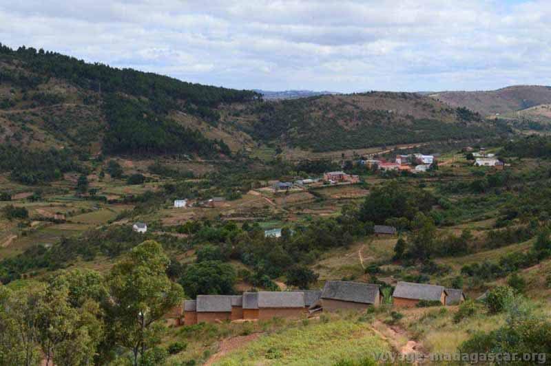 Paysage d'Ambohimalaza