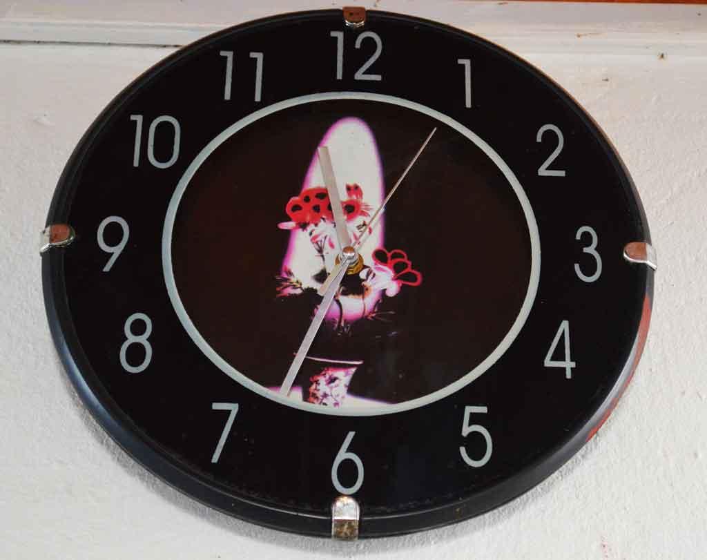 horloge du temps moderne