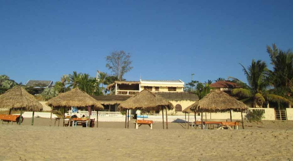 hotel sur la plage à madagascar