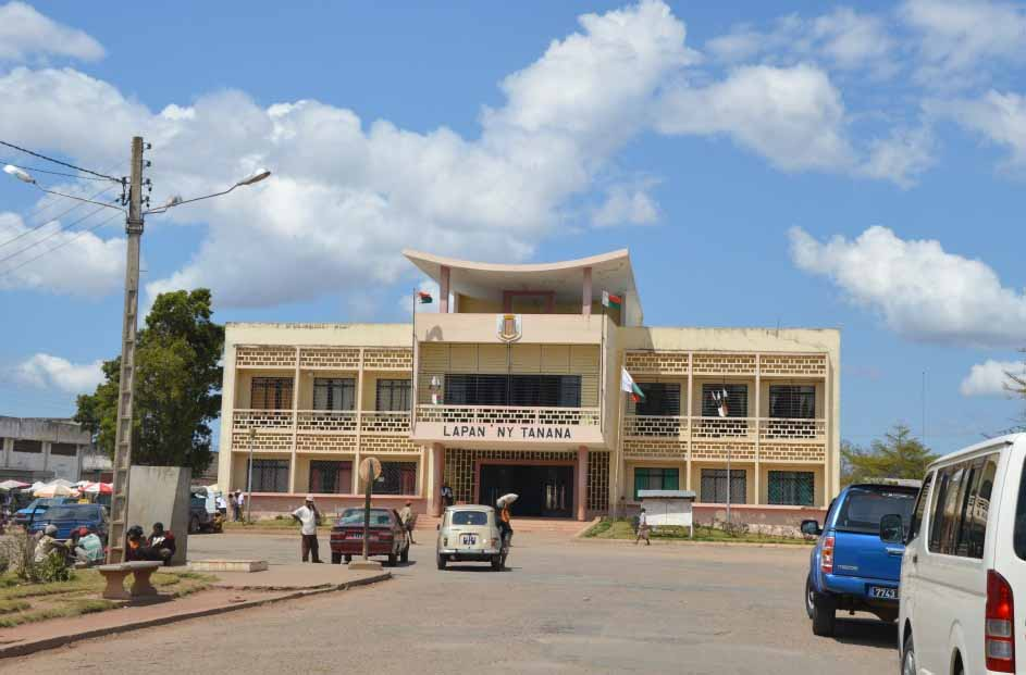 découvrir Fianarantsoa: Mairie de Fianarantsoa