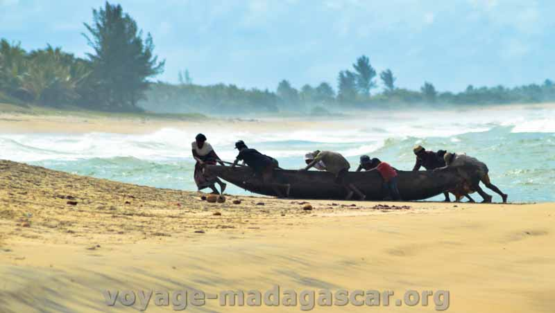 pêcheurs maritime à Manakara