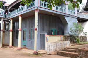 Pavillons en bois d'Ambohimanga