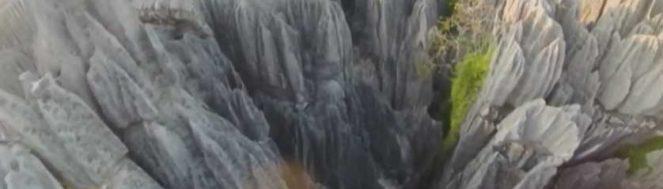 Parc national des Tsingy de Bemaraha - Cathédrale de calcaire