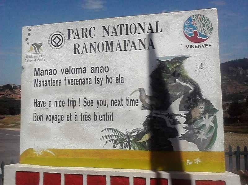 Parc Ranomafana manao veloma anao - Bon voyage