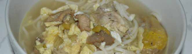 Soupe au poulet facile