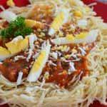 spaghetti sauce au fromage
