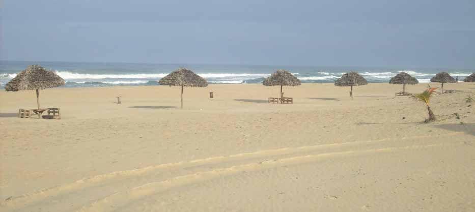 Toamasina: belle plage de sable fin