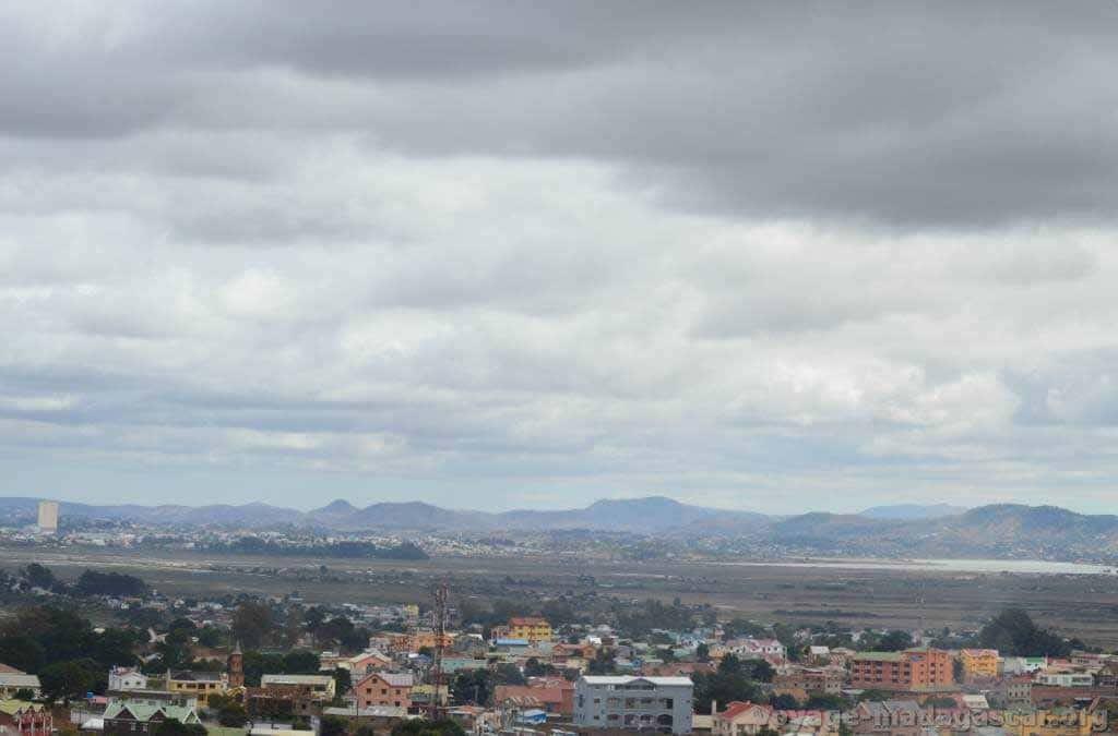 Vue panoramique sur Antananarivo, de Ilafy.